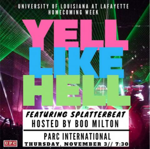 yell like hell flyer